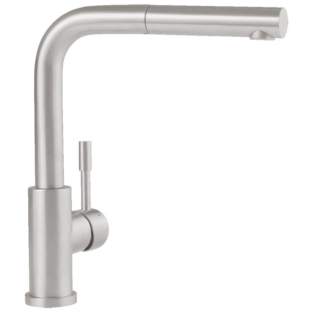 Villeroy boch steel shower einhebel kuchenarmatur for Küchenarmatur niederdruck