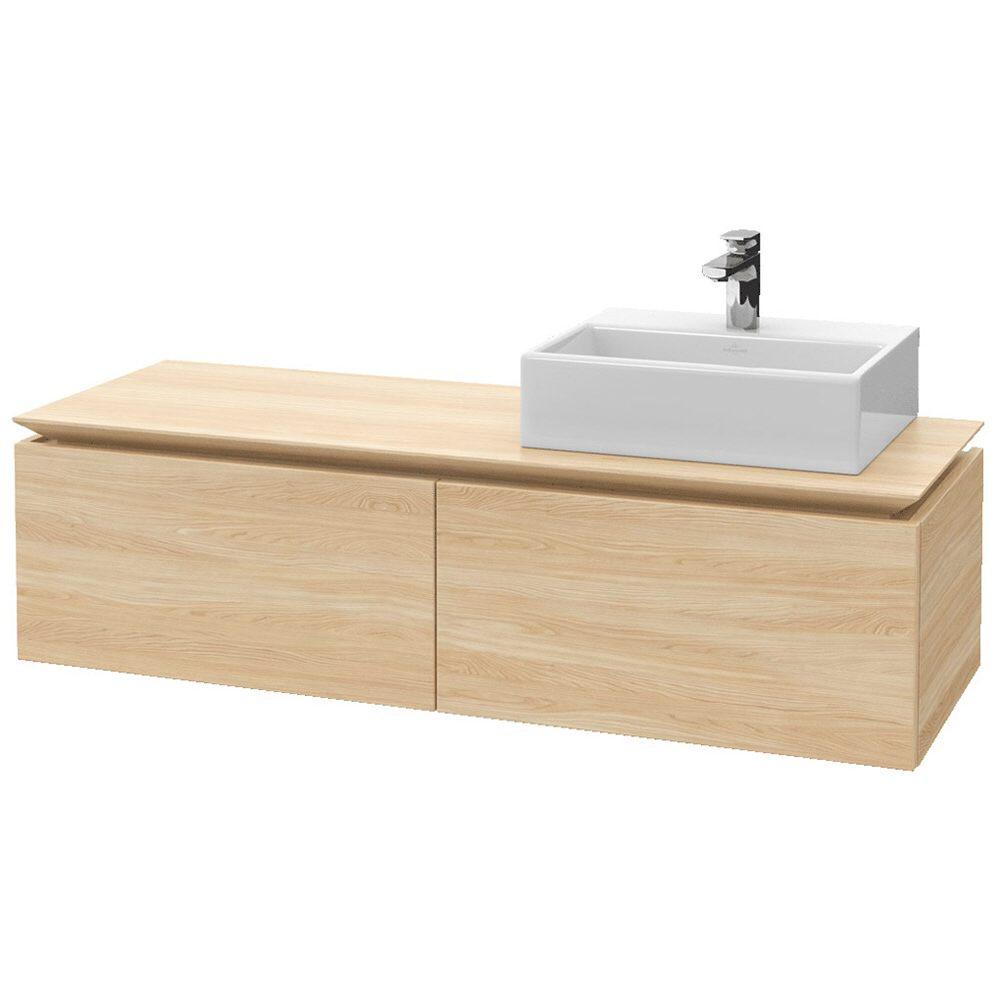 Villeroy boch legato waschtischunterschrank 140 cm b11500pn megabad - Waschtischunterschrank 140 ...