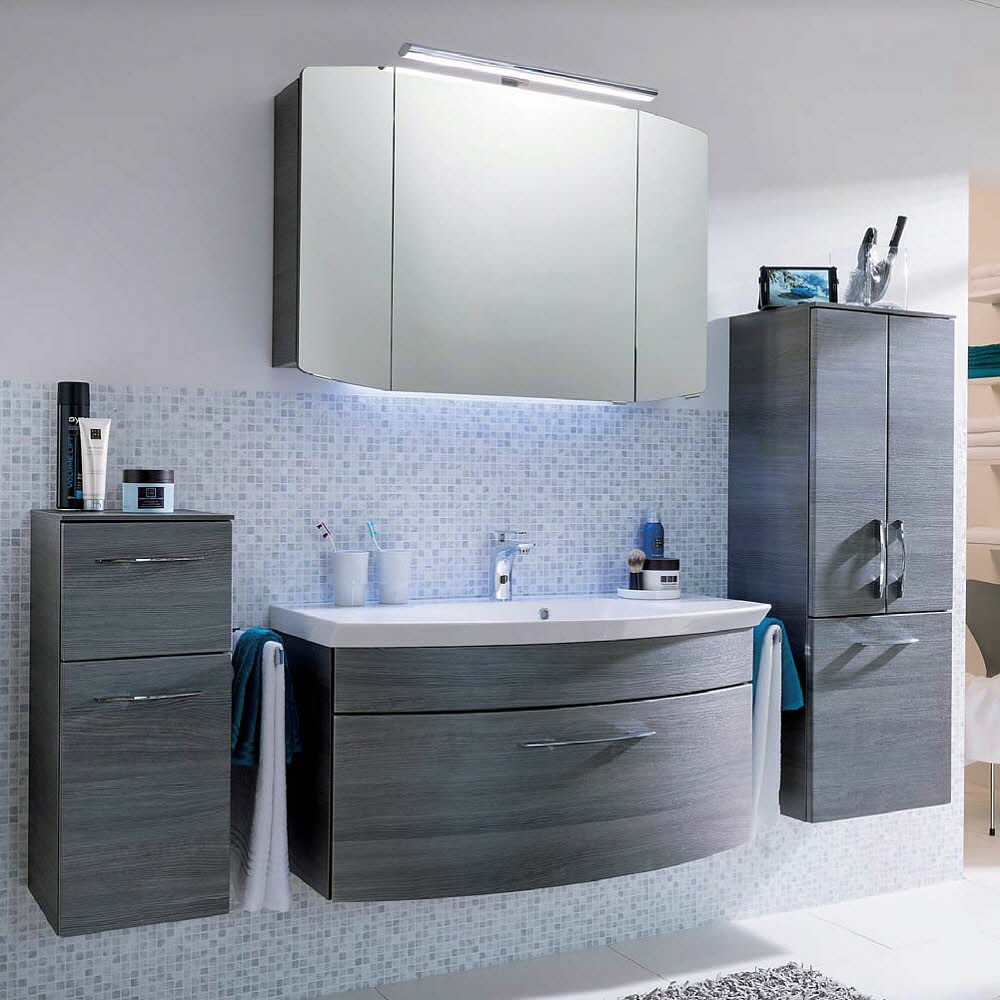 pelipal cassca midischrank 45 x 33 x 121 cm cs md03f419k5an megabad. Black Bedroom Furniture Sets. Home Design Ideas