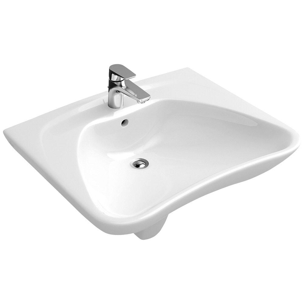 Villeroy boch o novo waschtisch vita 60 x 49 cm 71196001 for Waschtisch villeroy boch