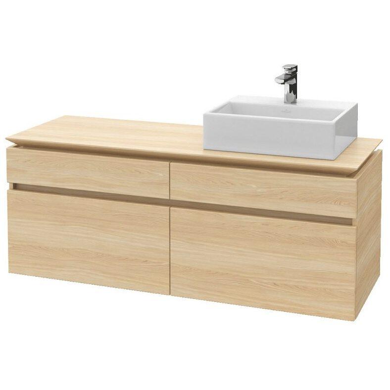 villeroy boch legato waschtischunterschrank 140 cm b135l0 pn megabad. Black Bedroom Furniture Sets. Home Design Ideas